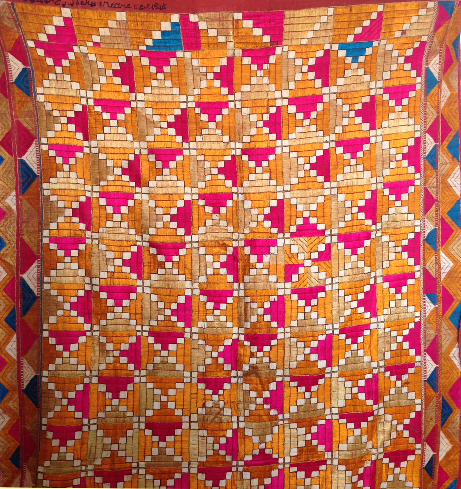Nota su Phulkari Classificazione - Jaina Mishra